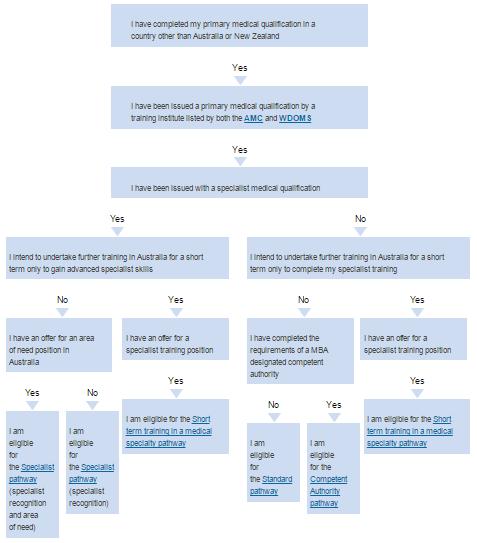 AMC pathways for IMGs