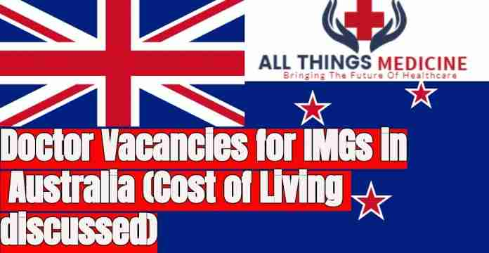 Doctor vacancies in Australia for IMGs
