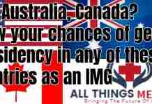 residency in Canada Australia and USA
