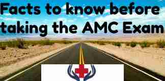 things to do before taking the AMC exam