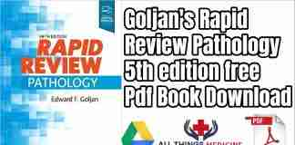 Goljan's Pathology Rapid Review 5th edition free PDF Book
