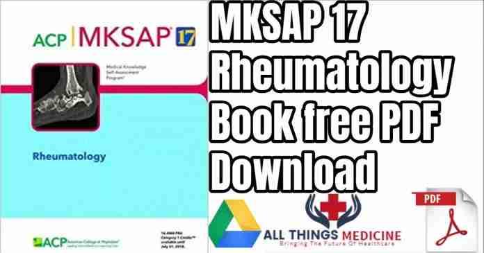 MKSAP Rheumatology
