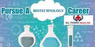 pursue a career in biotechnology