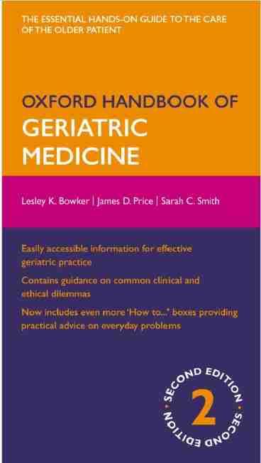 Oxford Handbook of Geriatric Medicine PDF 2nd Edition