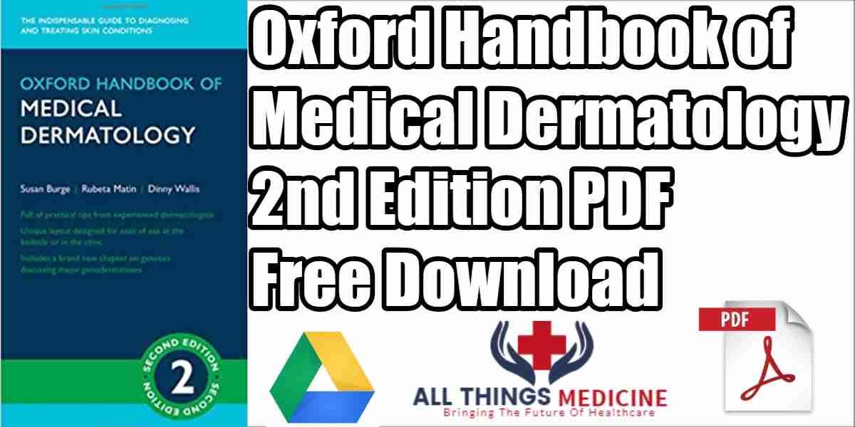 Oxford Handbook of Medical Dermatology PDF 2nd Edition Free Download