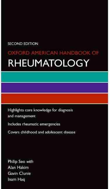 Oxford American Handbook of Rheumatology PDF